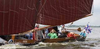 Klassenfart segeln in Friesland