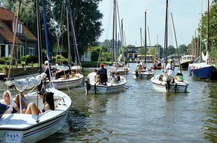 Segelfahrt Polyvalk nach Langweer