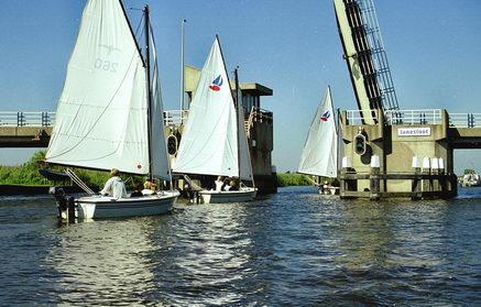 Segelfahrt Segeljolle Friesland