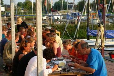 Grillen ünterkunft Sneek, Friesland, Holland
